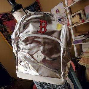 N.W.T.BACK pack Boston ared socks rocking silver